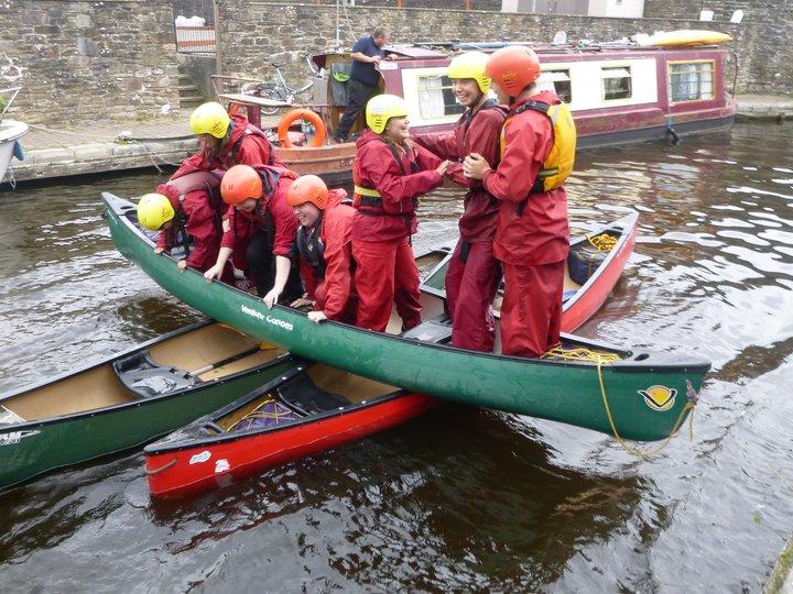 Canoe problem-solving