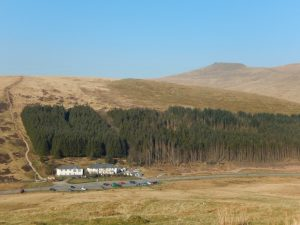 Storey Arms Centre and Brecon Beacons